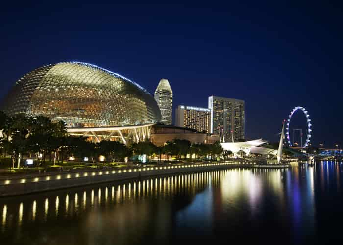 Esplanade - Theatres on the Bay - Singapura