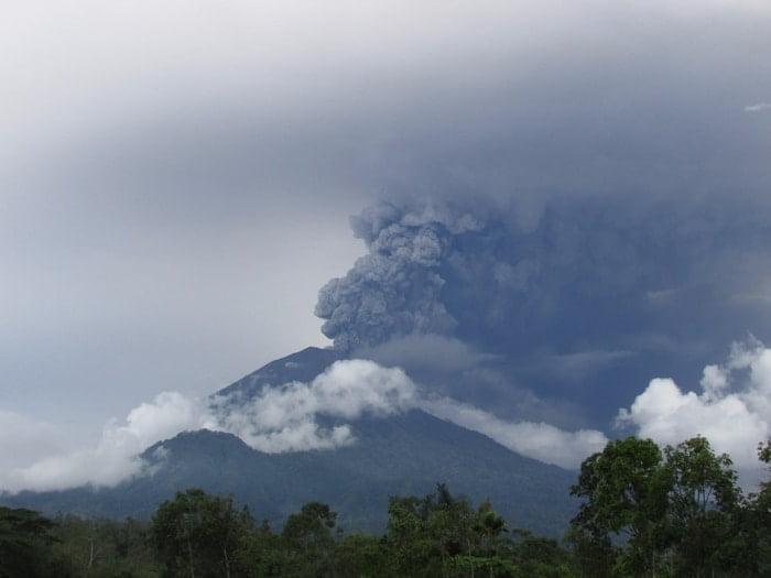 Gunung Agung 26 November 2017
