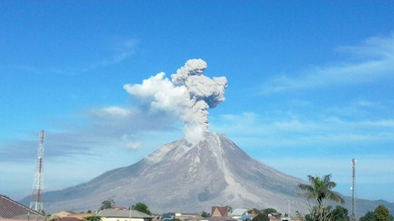 Gunung Sinabung Sumatera Utara