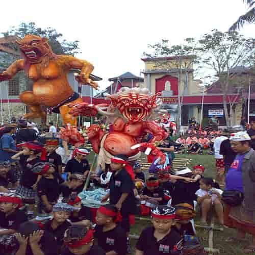 Hari Raya Nyepi Ogoh-Ogoh