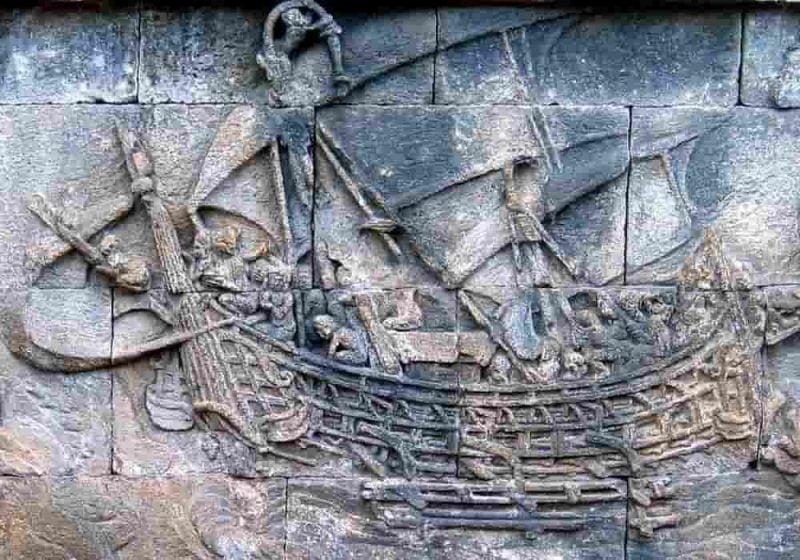 Kapal zaman kerajaan sriwijaya
