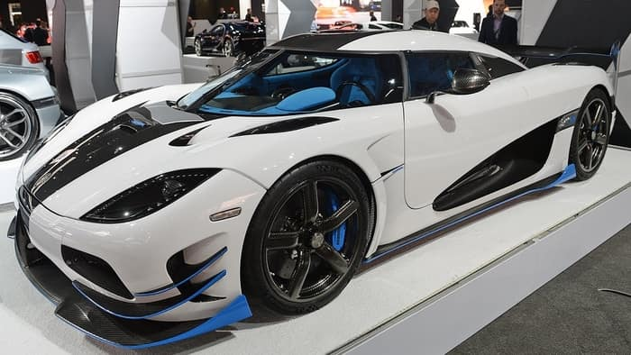 Koenigsegg Agera RS1 New York 2017