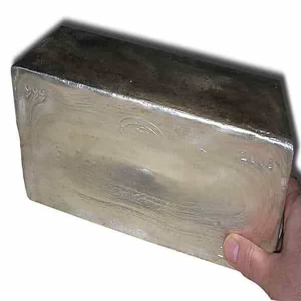 Perak bulion batang