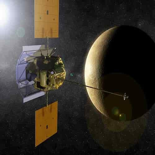 Planet Merkurius Wahana MESSENGER