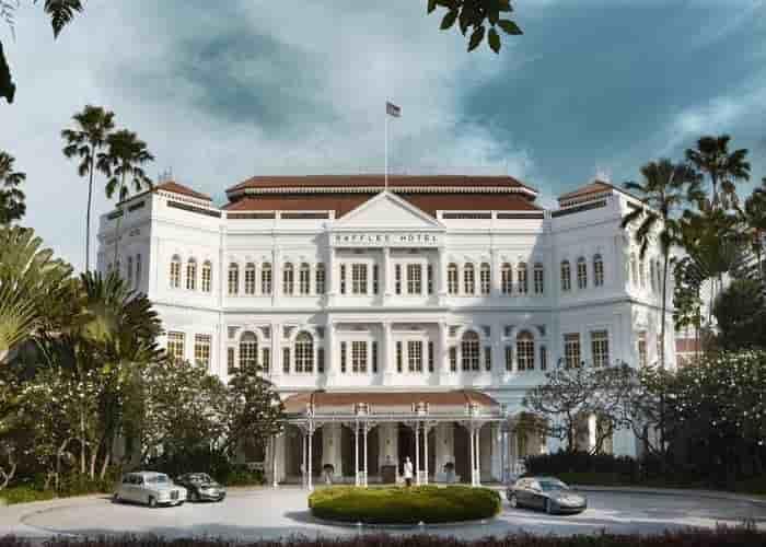 Raffles hotel Singapura