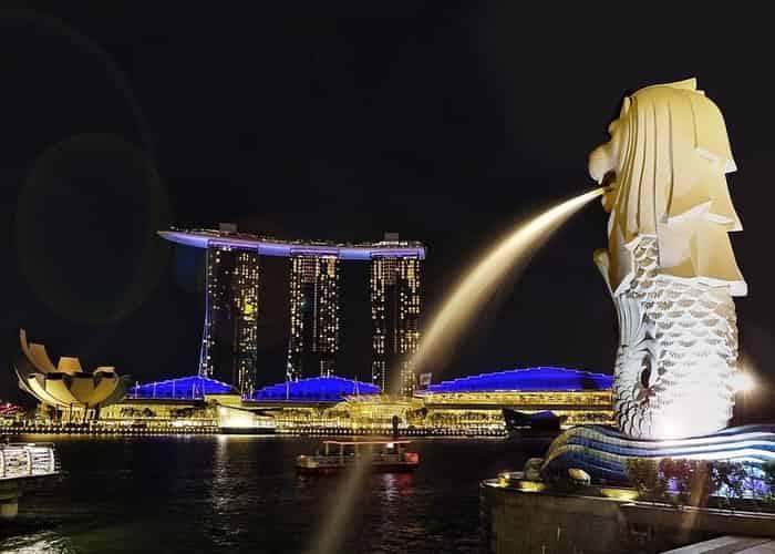 Singapura Merlion