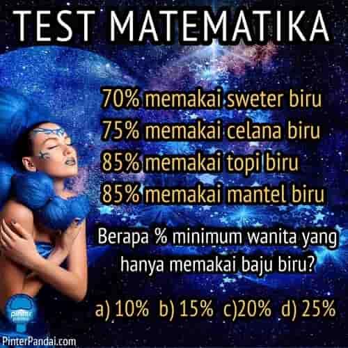 Contoh soal matematika persentasi