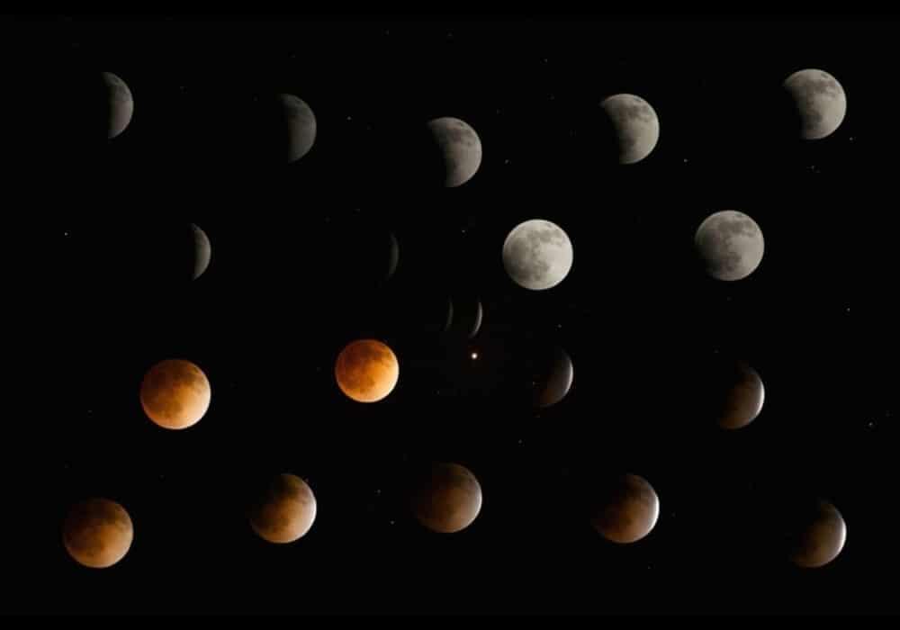 Transisi gerhana bulan