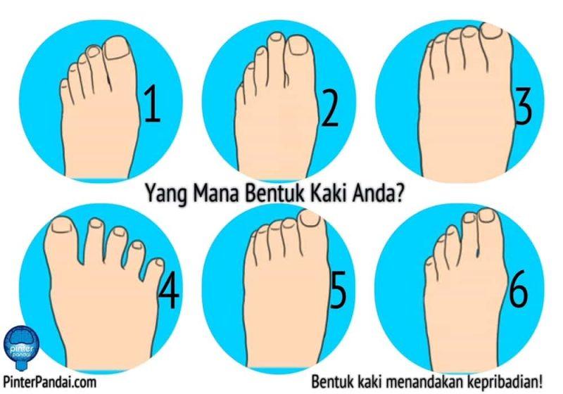 Bentuk kaki