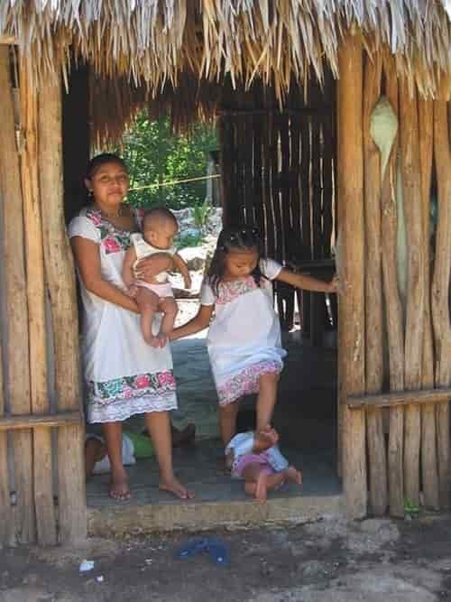 Penduduk Maya di: Tankan - Yucatan - México
