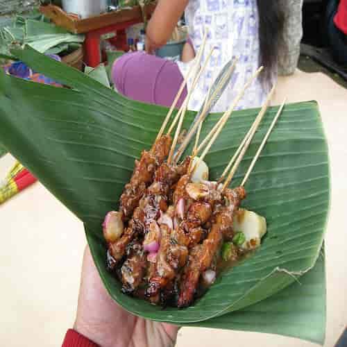 Resep sate kelapa