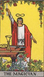 1 Tarot Magician - Pesulap Penyihir