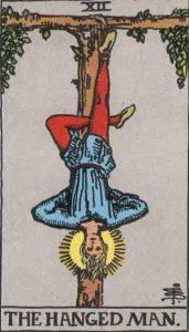 12 Tarot Hanged Man - Pria Tergantung
