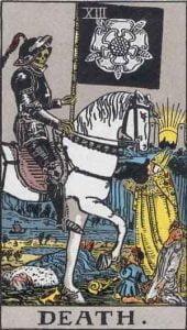 13 Tarot Death - Kematian