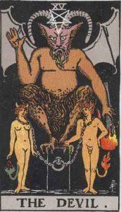 15 Tarot Devil - Iblis