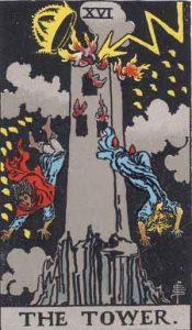 16 Tarot Tower - Menara