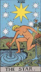 17 Tarot Star - Bintang