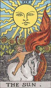 19 Tarot Sun - Matahari