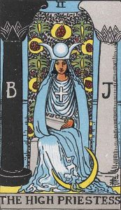 2 Tarot High Priestess - Pendeta Tinggi