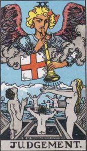 20 Tarot Judgement - Penilaian