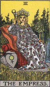 3 Tarot Empress - Permaisuri