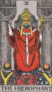5 Hierophant - Sri Paus