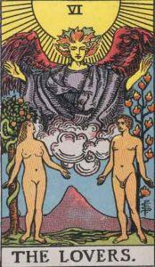 6 Tarot Lovers - Kekasih