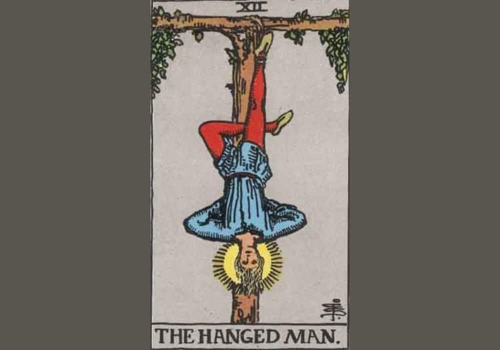 Arti Kartu Tarot 12 Hanged Man (Pria Yang Tergantung