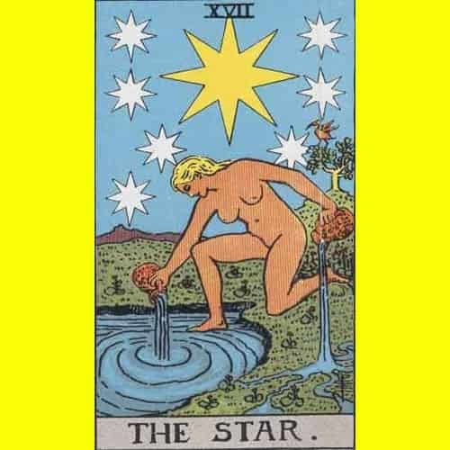 Arti Kartu Tarot 17 Star - Bintang