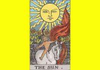 Arti Kartu Tarot 19 Sun - Matahari