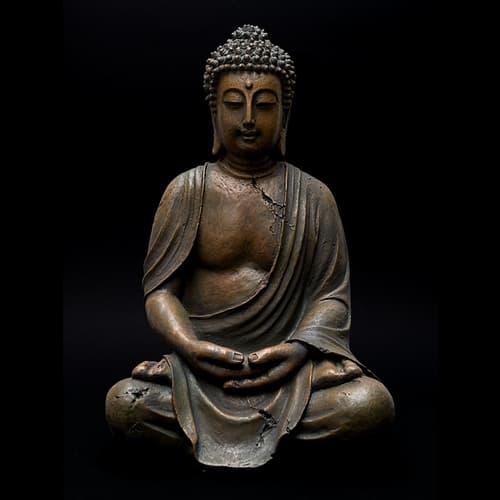 Patung agama buddha bronze