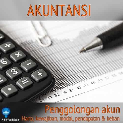 Penggolongan akun akuntansi