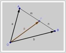 Soal catatan vektor segitiga P