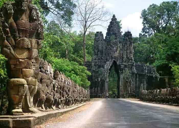 Angkor Thom - Gerbang Selatan - Kamboja