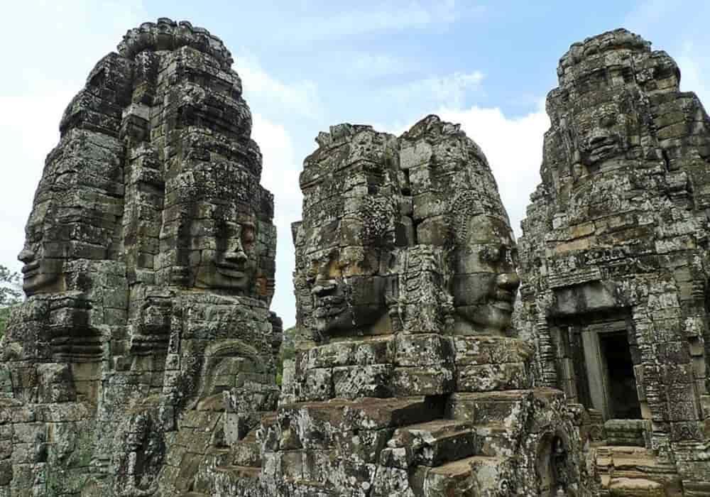 Candi Bayon - Angkor Thom
