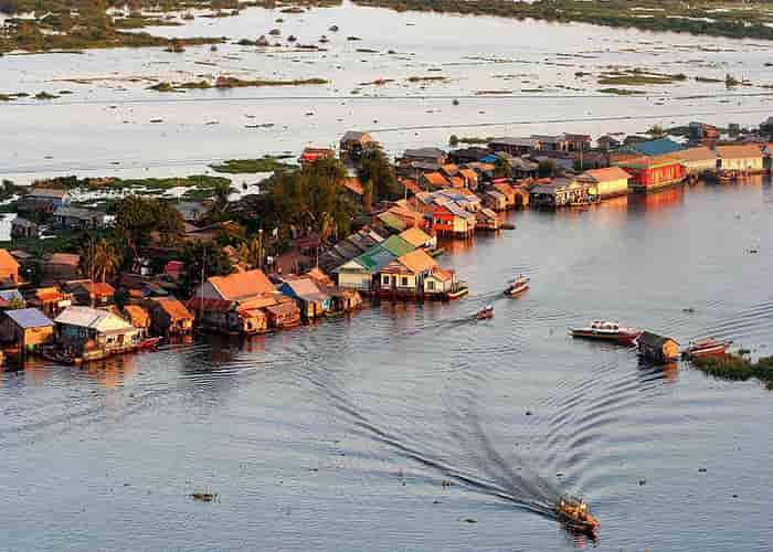 Danau Tonle Sap - Siem Reap