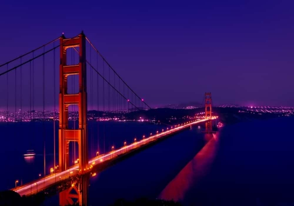 Jembatan Golden Gate - San Francisco