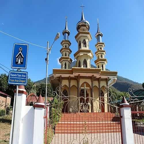 Kapel Tuan Ma di Larantuka - Flores