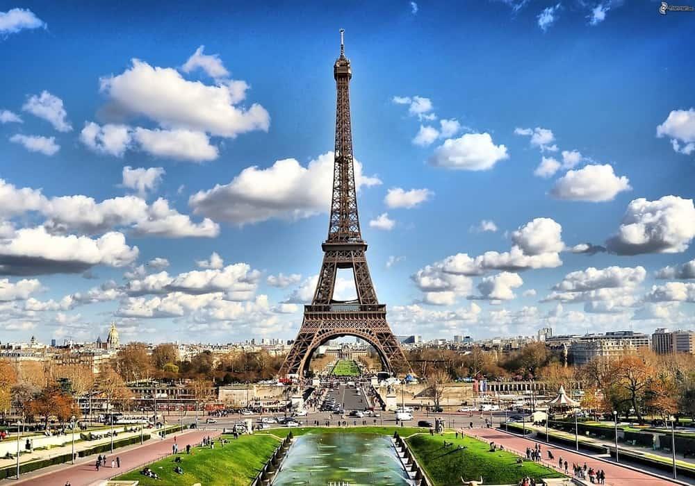 Paris menara Eiffel