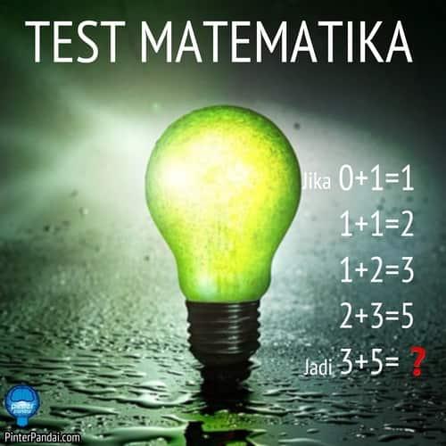 Derat angka matematika jika nol ditambah 1