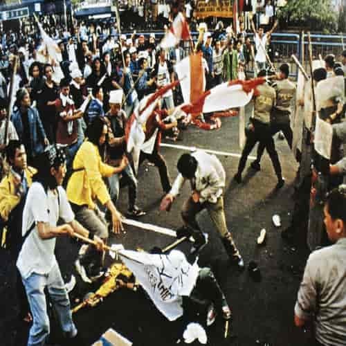 Kerusuhan May 1998 insiden tri sakti jakarta
