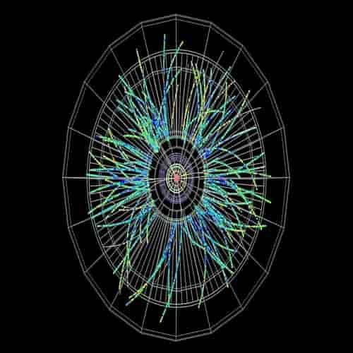 ALICE mencatat tumbukan proton-timbal pertama di LHC