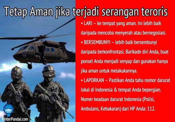 Menjaga keluarga Anda aman dari teroris