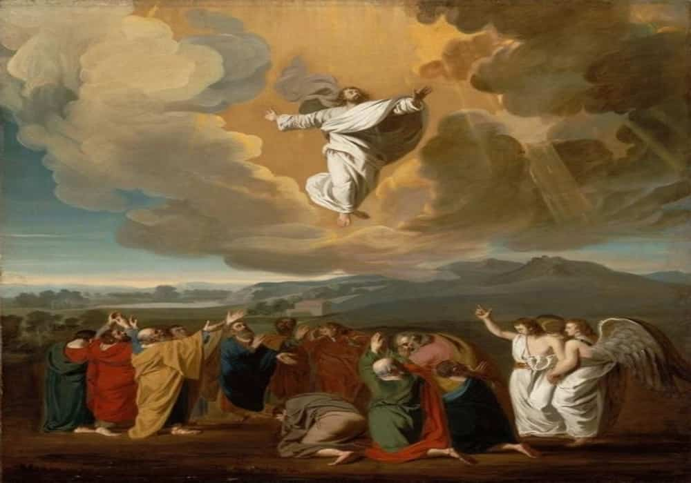 Hari Raya Kenaikan Isa Almasih Memperingati Yesus Naik Ke Surga