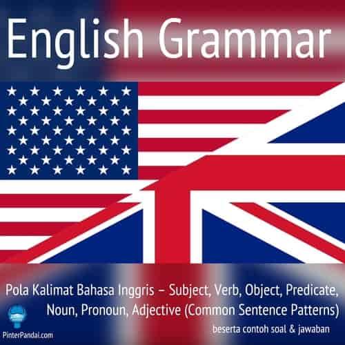 Pola kalimat bahasa Inggris