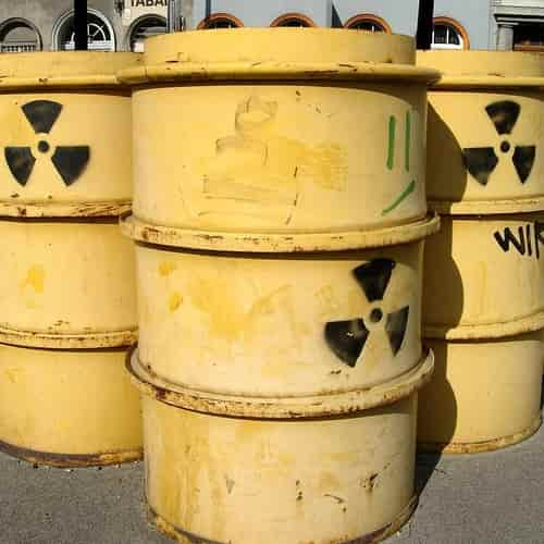 Baril radioaktif