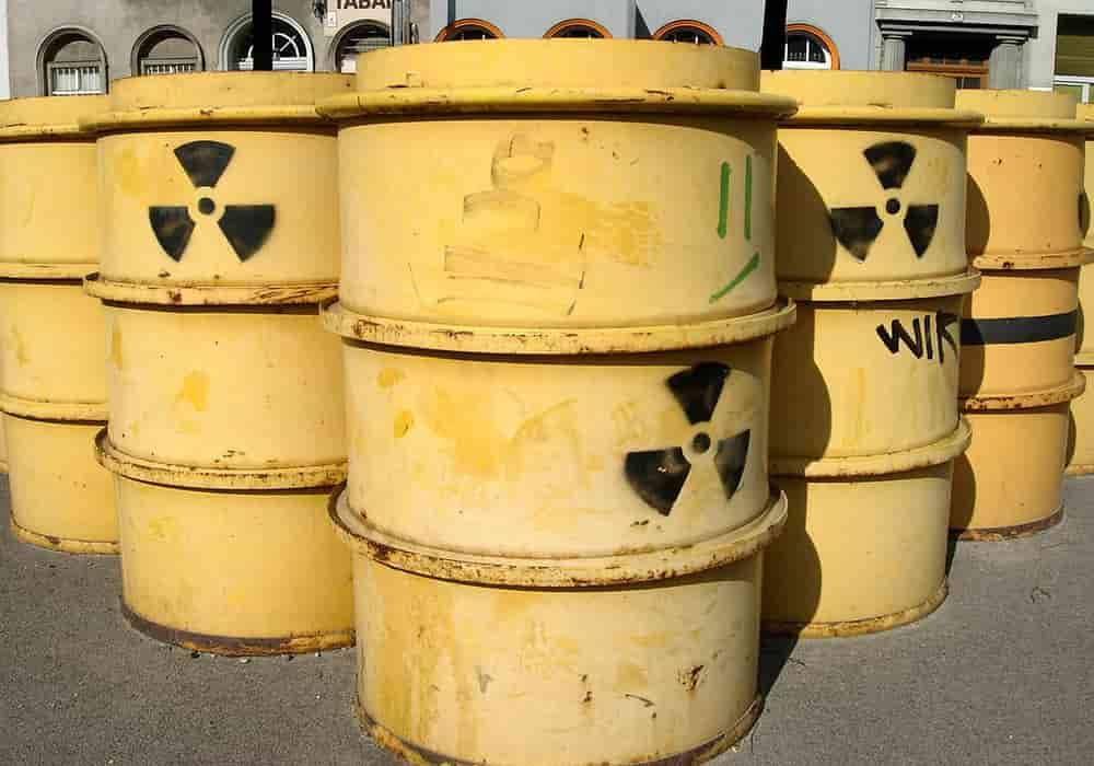 Baril radioaktif - Tempat paling terkontaminasi radioaktif