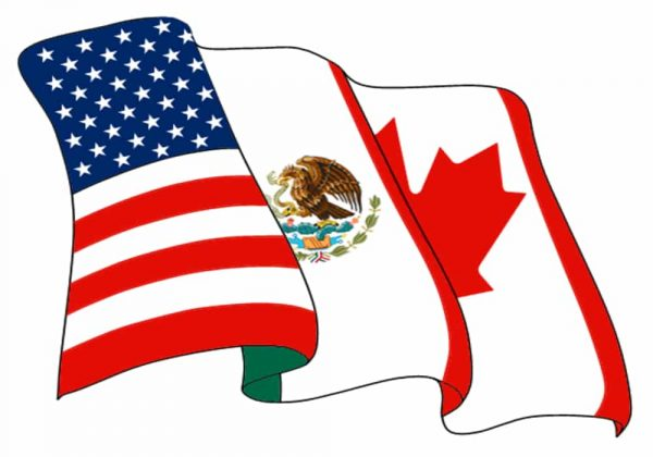 Negara NAFTA - Bendera