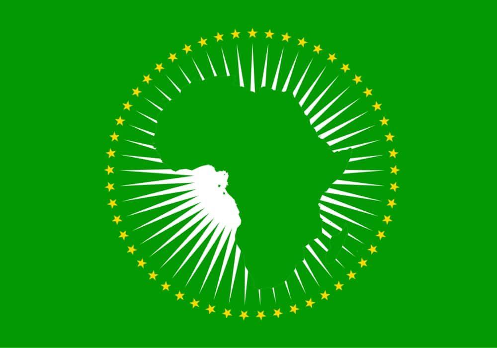 Negara Uni Afrika - Bendera
