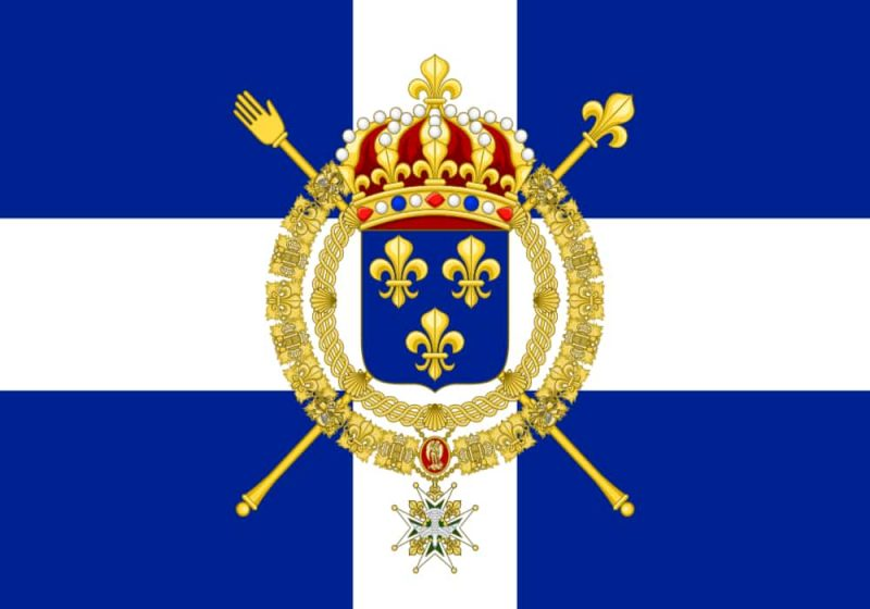 Bendera angkatan laut kerajaan Prancis abad 17 - 1790